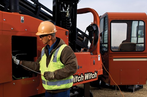 Ditch Witch JT100 All Terrain perforatrice