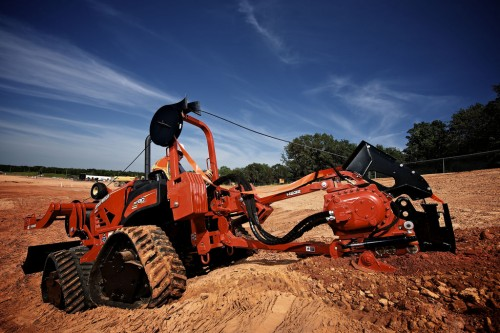 Scavatrice con operatore a bordo Ditch Witch RT80 Quad